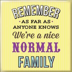 Магнет Normal family