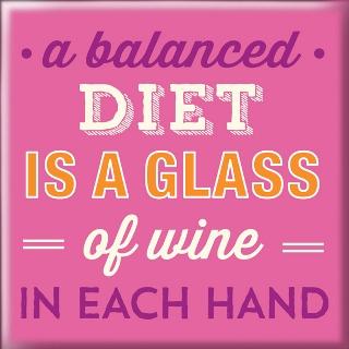 Магнет Balanced Diet