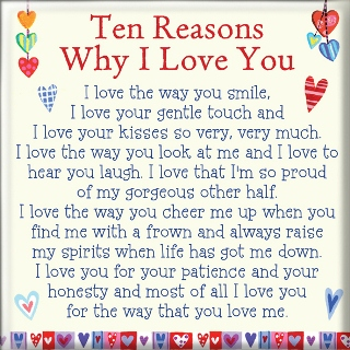 Magnet Reasons why I love you